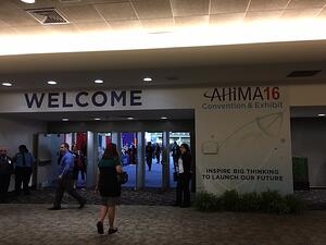 AHIMA Convention 2016 hall