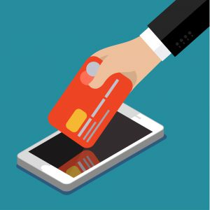 Illustration of mobile-only banking apps
