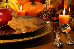 Fall table. Grateful for digitally transforming industries